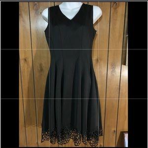 Leslie Fay Black Dress. Sz:4